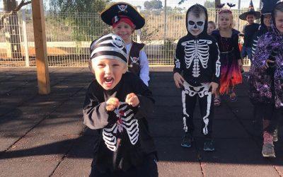 Halloween fancy dress fun!